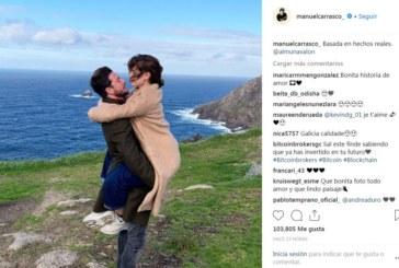El isleño Manuel Carrasco utiliza las redes sociales para mostrarnos su lado más romántico