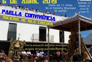 Paella Convivencia rociera en Isla Cristina