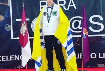 Plata para el luchador isleño Miguel Pérez, en el Campeonato de España