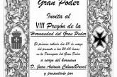 VIII Pregón de la Hermandad del Gran Poder a cargo de D. Juan Antonio Columé Breval.