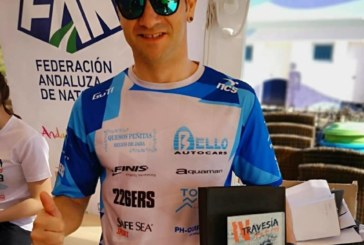 Rubén Gutiérrez, Subcampeón Absoluto en la Travesía de Invierno de Mazagón (Huelva)