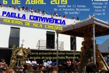 Paella convivencia de los Rocieros de Isla Cristina