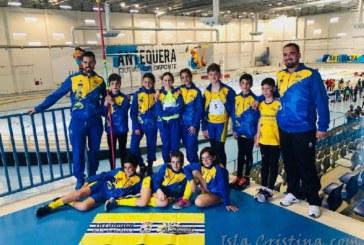 El C.A. Isla Cristina masculino relevante en el Campeonato de Andalucía de Clubes Sub 12 en pc