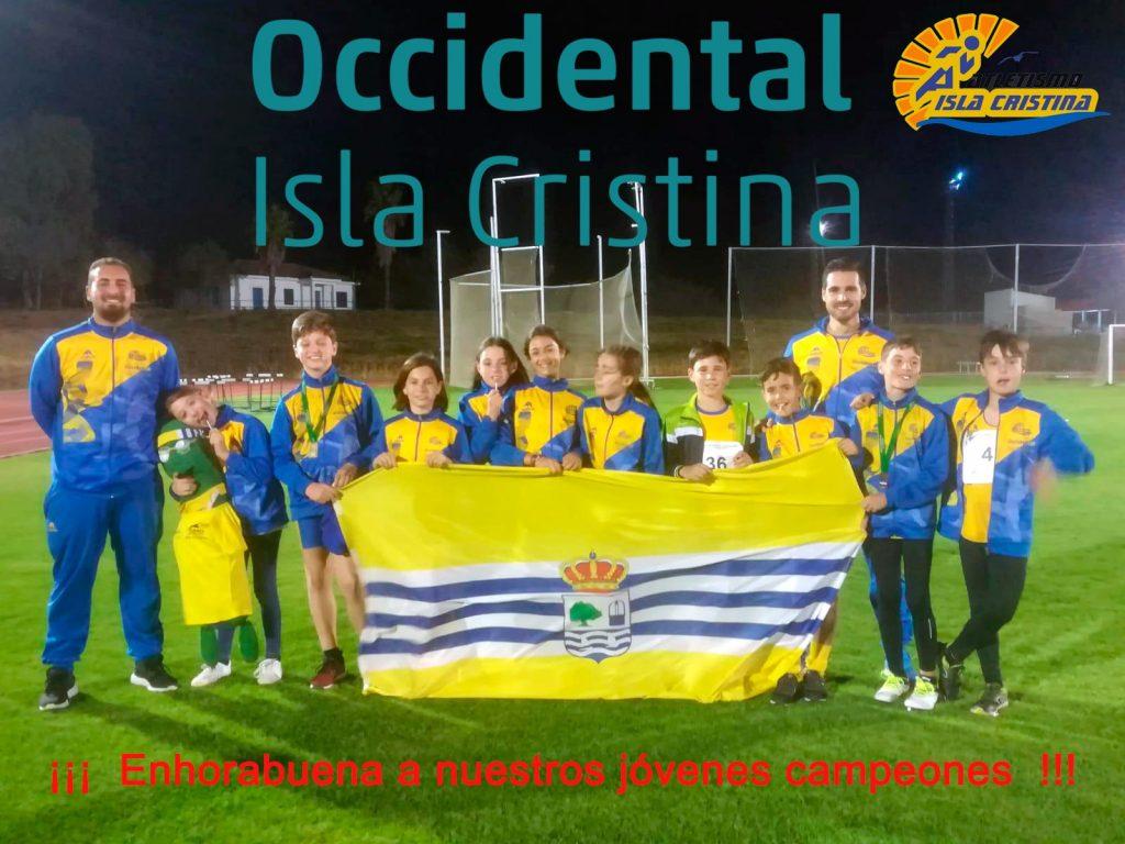 Sobresaliente los alevines del C.A. Isla Cristina en Carmona