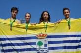 Los Infantiles traen 7 medallas del Campeonato de Andalucía de Atletismo Zonal Occidental de Invierno
