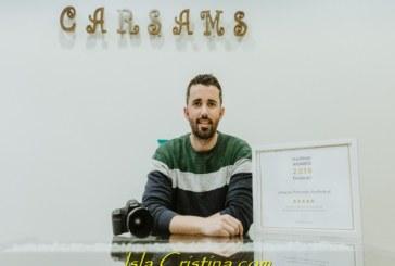 La productora de Isla Cristina «Carsams Producción Audiovisual» recibe un premio Wedding Awards 2019