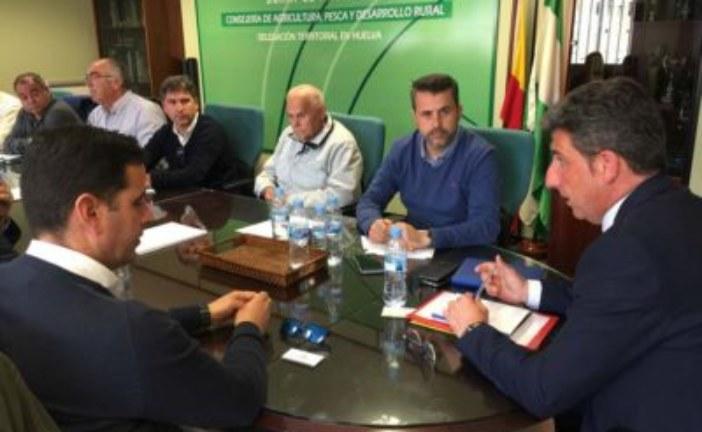 El delegado de Agricultura inicia una ronda de contactos con los distintos colectivos sectoriales de la provincia