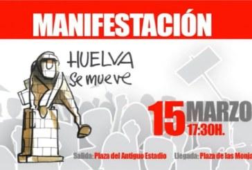 Apoyo de Caja Rural del Sur a la manifestación del 15-M para reivindicar las infraestructuras