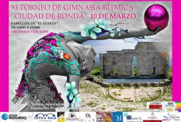 """Isla Cristina presente en el XI Torneo de Gimnasia Rítmica """"Ciudad de Ronda"""""""