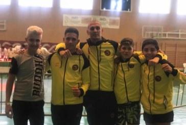 Los alumnos de Kick boxing del Club Vip gim de Isla Cristina brillan en Sevilla