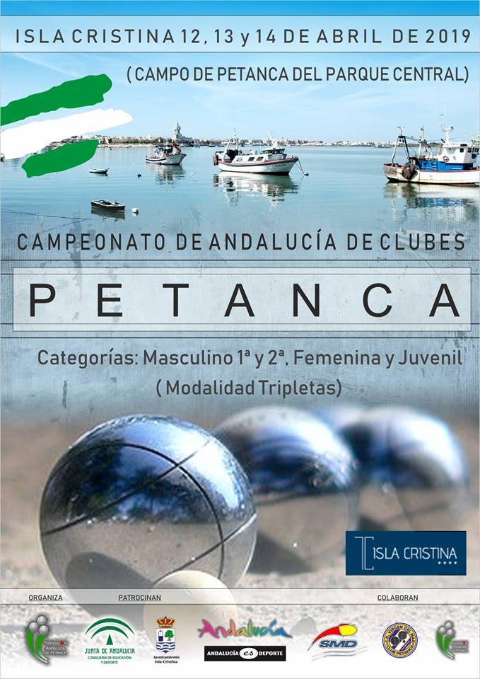 Isla Cristina acoge el Campeonato de Andalucía de Clubes de Petanca