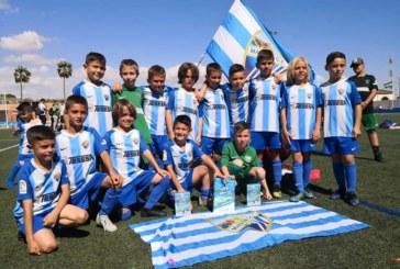 Málaga CF, primer ganador de la Huelva Capital Gañafote CUP en prebenjamín