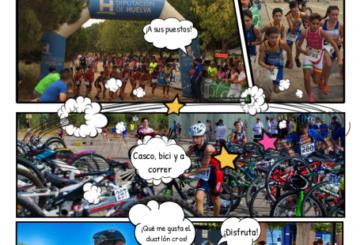 """La Redondela en el """"I Circuito de Duatlón Cros de menores de Huelva"""""""