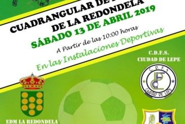 El benjamín del Punta del Caimán participa en el Cuadrangular de Fútbol Sala de La Redondela