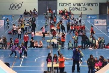 El CV Isla Cristina participa en la Concentración de Minivoley en Gibraleón
