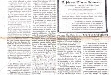 Archivo Municipal de Isla Cristina, Fondo Polo, Periódico LA HIGUERITA, 13 de abril de 1919