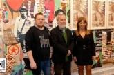 """El artista isleño Manolo Cuervo presentó ayer en Morón su exposición """"All You Need is Jazz"""""""
