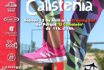II Taller de Calistenia' sábado 13 de abril a las 11:00h en el Parque El Camaleón.