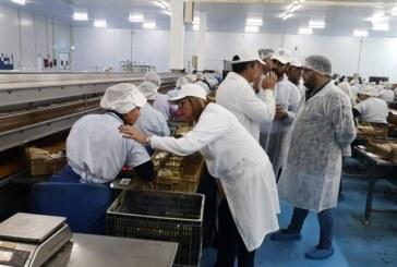 Faneca traslada en Isla Cristina su apoyo al sector pesquero
