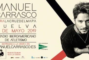 Manuel Carrasco este sábado y domingo en Huelva