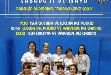 Isla Cristina acoge la fase Final de Voleibol cadete de la Provincia en Juego