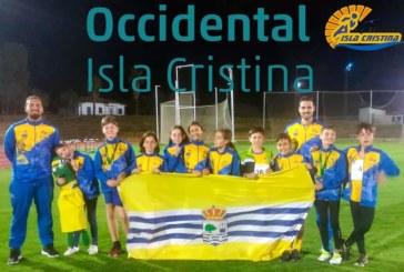 Isla Cristina acogió el Campeonato Provincial de Atletismo de menores