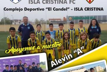 """Isla Cristina alevín """"A"""" – vs – Sevilla, este viernes en el Emilio de los Santos"""