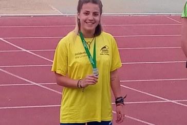 La atleta isleña Eva Cárdenas Bermúdez, récord de Huelva absoluto en los 100 metros