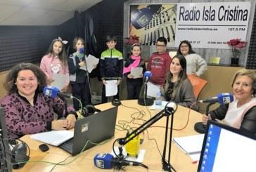 Los Escolares Protagonistas en las Mañanas de Radio Isla Cristina