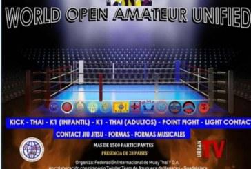 El Luchador isleño Miguel Pérez en el Open Mundial Amateur Unificado