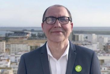 Andrés Díaz Carrasco, candidato de Andalucía Por Sí (AxSí) a la alcaldía de Huelva.