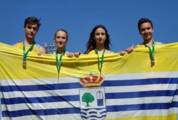 Lluvia de medallas para el C.A. Isla Cristina en el Campeonato Provincial de Atletismo de Menores