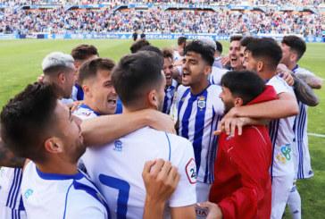 El Recreativo se proclama campeón tras vencer al Villanovense (1-0) con un gol de Caye