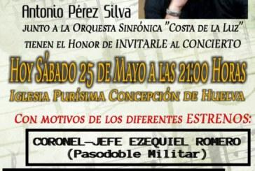 Concierto del Compositor isleño Antonio Pérez Silva y la orquesta sinfónica «Costa de la Luz»