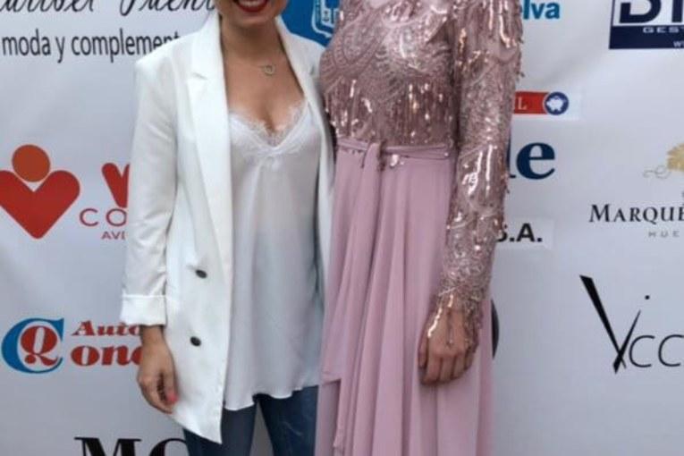 Éxito de Macarena Castro en El desfile Huelva de moda