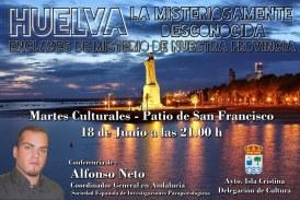 """""""Huelva la Misteriosamente Desconocida"""" En los Martes Culturales de Isla Cristina"""