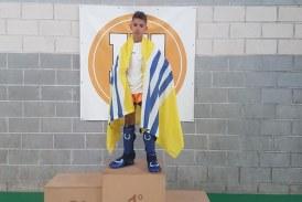 El luchador isleño Miguel Pérez, Campeón en la 11 Copa: K1fitness (Kickclight)