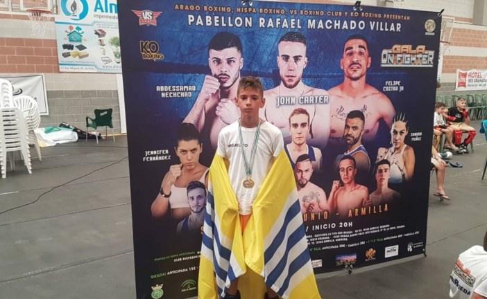 Doble medalla de Oro para Miguel Pérez en la gala 'On Fighter'