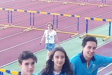 La cantera del CA. Isla Cristina en el Campeonato de España de Atletismo