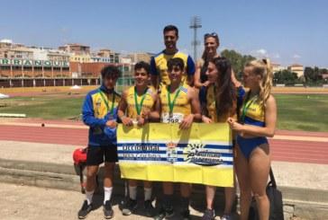 Isla Cristina Cosecha 5 metales del Campeonato de Andalucía de Atletismo Cadete