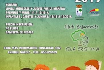 Entrenamientos de Tecnificación del mejor Baloncesto en Isla Cristina