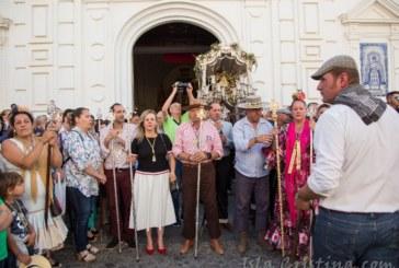 La Hermanda de El Rocío de Isla Cristina regresa a la localidad después de una romería tranquila y sin incidentes