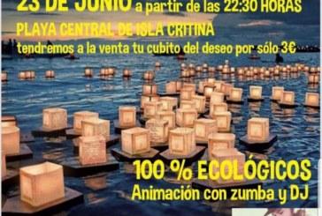 Isla Cristina celebra la Hoguera de San Juan
