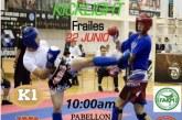 El luchador isleño Miguel Pérez, participa en la 11 Copa: K1fitness (Kickclight)