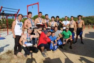 Celebrado el Primer Campeonato de Batallas de Street Workout en Islantilla