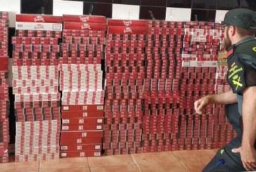 La Guardia Civil ha aprehendido en Isla Cristina 1.442 cajetillas de tabaco