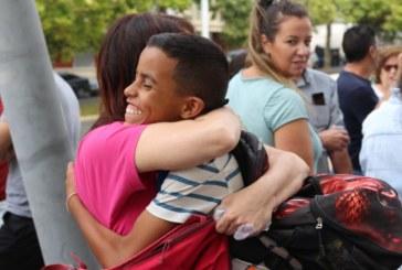 """Ya están en Huelva los niños y niñas saharauis del programa """"Vacaciones en Paz"""""""