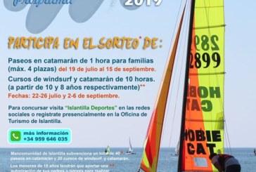 V Edición del 'Programa Náutico en Familia' de Islantilla.