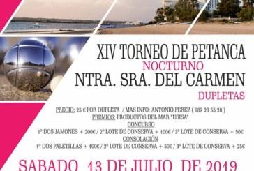 XIV Torneo Nocturno de Petanca «Ntra. Sra. del Carmen»