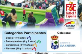 Isla Cristina celebrará el Torneo Nacional de Fútbol 3